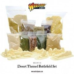 DESERT THEMED BATTLEFIELD SET
