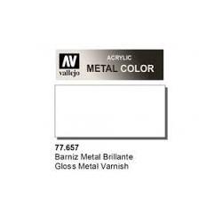 METAL COLOR 657-32ML. BARNIZ METAL BRILLANTE