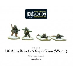 US ARMY BAZOOKA AN SNIPER TEAMS (WINTER)