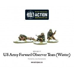 US ARMY FORWARD OBSERVER TEAM (WINTER)
