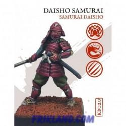 Samurai Daisho a pie