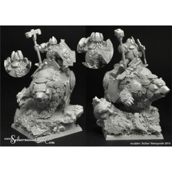 28mm/30mm Dwarf Lord Broor