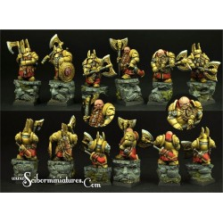 28mm/30mm Dwarf Lord Dalbar