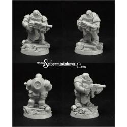 28mm/30mm SF Dwarf Marine 9