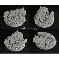 Crused Earth 25mm/65mm round bases (2)
