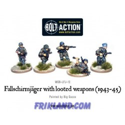 FALLSCHIRMJAGER WITH LOOTED WEAPONS (5)