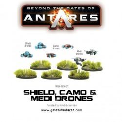 SHIELD, CAMO & MEDI-DRONES