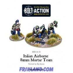 ITALIAN AIRBORNE MEDIUM MORTAR TEAM