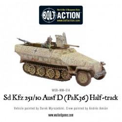 SD.KFZ 251/10 AUSF. D (PAK 36) HALF-TRACK