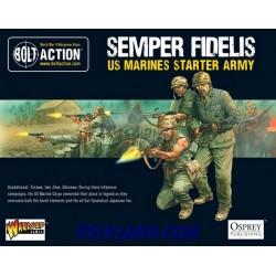 SEMPER FIDELIS. Us Marine Corps Starter Army