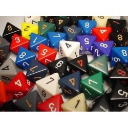 Bag of 50 Asst. Loose Speckled Polyhedral d12 Dice