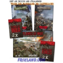 Set de Inicio de Flames of War para dos jugadores (ESPAÑOL)