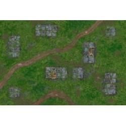 War Game Mat - 72x48inch - Outpost