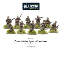 POLISH INFANTRY SQUAD WITH GREAT COATS (10 MAN)