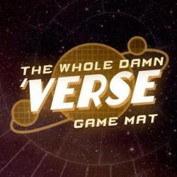 """Firefly: """"Whole Damn Verse"""" Vinyl Game Mat 50"""" x 20"""""""