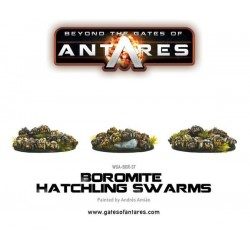 BOROMITE HATCHILING SWARMS (3 RESIN BASES OF HATCHILINGS)