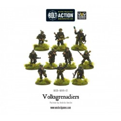 WOLKSGRENADIERS (10 MODELS)
