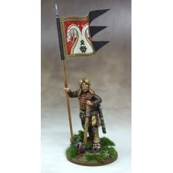 Breton War Banner & Bearer