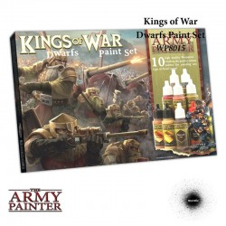 Warpaints Kings of War Greenskins paint set