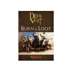 Deus Vult - Burn & Loot (Wargame Rulebook) - 72 PagesPaperback
