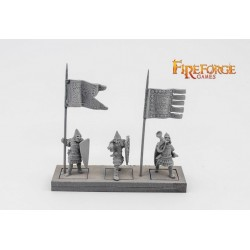 Russian Infantry Command (3 infantry resin figures)