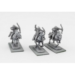 Russian Chernyeklobuki Archers (3 mounted resin figures)