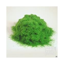 Césped electroestático verde intenso