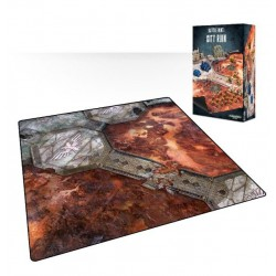 WARHAMMER 40.000 BATTLE MAT CITY RUINS