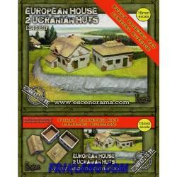Ucranian Huts (2) Pintadas (serie limitada)