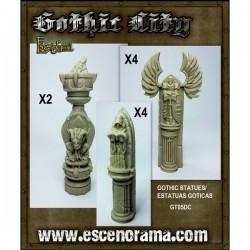 Estatuas De Demonio