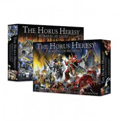 The Horus Heresy: Burning of Prospero + Betrayal at Calth