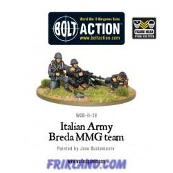 ITALIAN ARMY BREDA MEDIUM MACHINE GUN