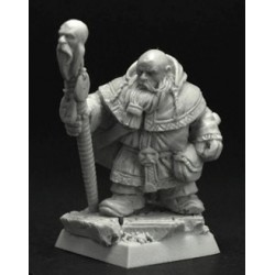 28mm/30mm Dwarf Lord on Mountain Ram