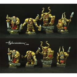 Dwarven Axemen Regiment 10 miniatures (10)
