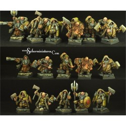 28mm/30mm Polish Dwarves set (6)