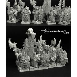 Riff Raff Evil Dwarves 10 miniatures (10)