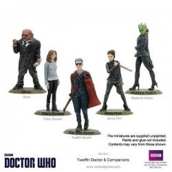 12TH DOCTOR AND COMPANION SET