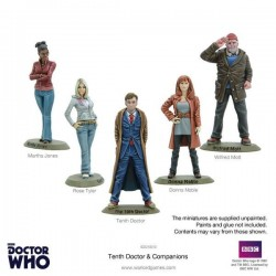 10TH DOCTOR AND COMPANION SET