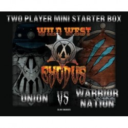 Two player mini starter box Union VS Warrior Nation
