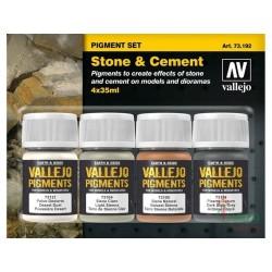 Pigmentos Set: Piedra y Cemento