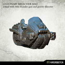 LEGIONARY BREACHER BIKE WITH THUNDER GUN AND GRAVITY DISTORTER