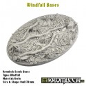 WINDFALL BASES, OVAL 170MM
