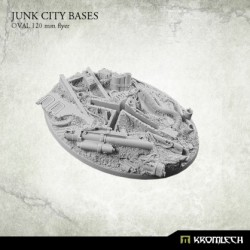 JUNK CITY BASES, OVAL 120MM (FLYERS)