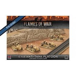 Desert Rats Grant Armoured Troop (Plastic x 5)