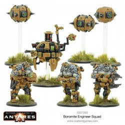 BOROMITE ENGINEERS 3 FIG BOX SET PLUS WORKSHOP