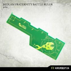 Bedlam Fraternity Battle Ruler Green