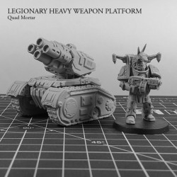 Legionary Heavy Weapon Platform: Quad Mortar