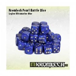 Kromlech Pearl Battle Dice - Legion Ultramarine Blue