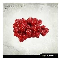 Mini Battle Dice Red