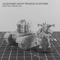 Legionary Heavy Weapon PLatform: Quad Heavy Thunder Gun